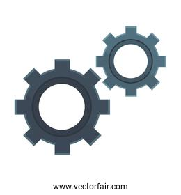 gears isolated icon