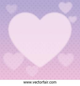 heart drawing background