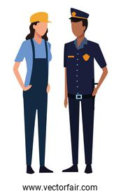 Jobs and professions avatar
