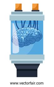 brain into a battery