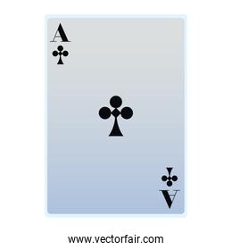 ace of clubs card