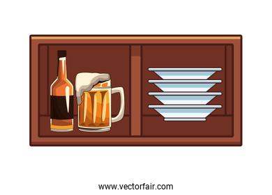 alcoholic drinks beverages cartoon