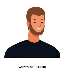 man avatar cartoon character