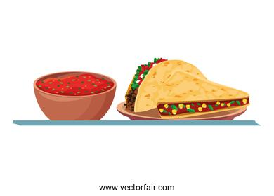 mexican food and tradicional culture