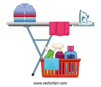 laundry wash and cleaning icons