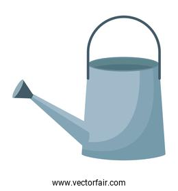 watering can icon cartoon isolated