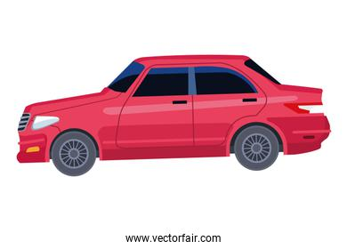 car vehicle transport icon cartoon