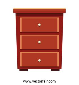House wooden drawer furniture cartoon