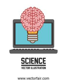 Science icons design , vector illustration