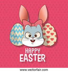 Happy easter design , vector illustration