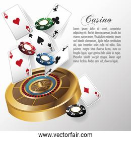 Casino and Cards of Poker design