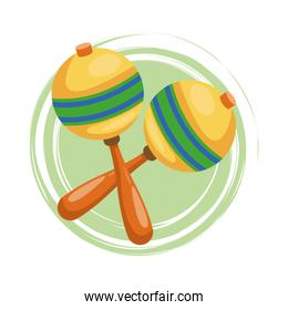 Maraca instrument and music design