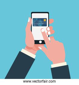Smartphone of shopping and payment design