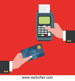 Dataphone of shopping and payment design