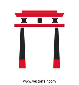 gate japanese architecture symbol