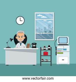 doctor office professional practitioner