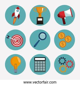collection digital marketing elements