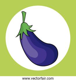 eggplant healthy fresh image
