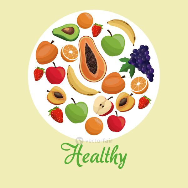 healthy food fruit concept