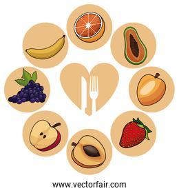 food healthy fruits nutrition image