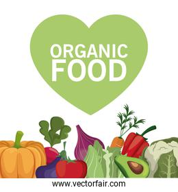 organic food healthy vegetable
