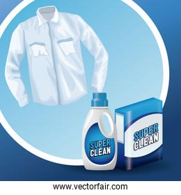 Laundry soap advertising product