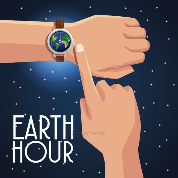 Earth hour design