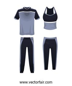 Sport wear for athletes