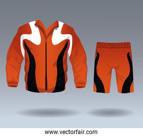 Fitness sport wear for male
