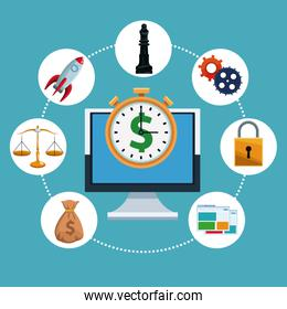 Financial tools from computer