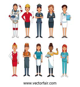 Jobs and professions