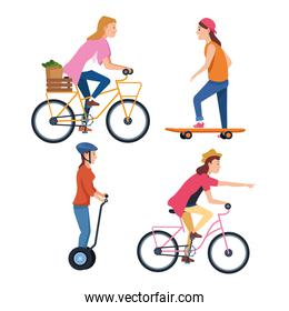 sport outdoor sportive activity cartoon