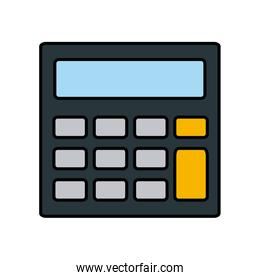 calculator accounts operation financial device icon
