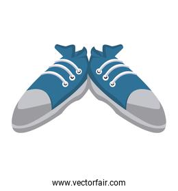Sport sneakers isolated