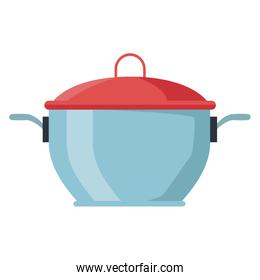 Pot with lid kitchen utensil