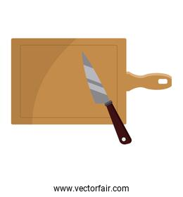 Knife with table kitchen utensil