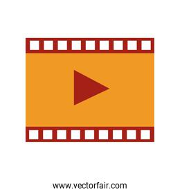 Video player symbol