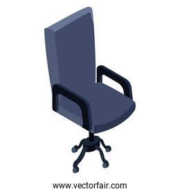 Office chair isolated 3d
