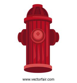 Hydrant isolated symbol