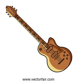 Electric guitar music instrument