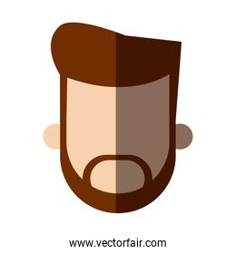 faceless head beard man people image