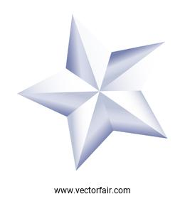 white star american independence nation symbol
