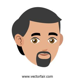 man adult beard mustache avatar
