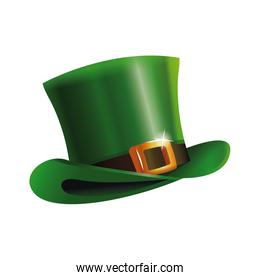 green st. patrick's day hat traditional image