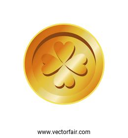 golden coin st patricks day treasure image