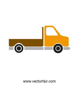 pickup truck vehicle transport side view