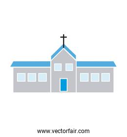 christian church building religion concept