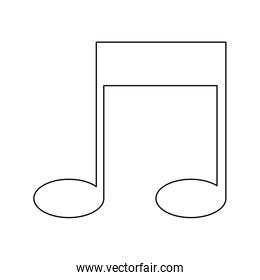 note music sound melody icon