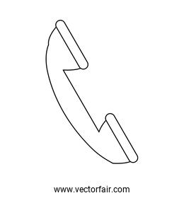telephone service call device communication icon