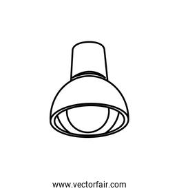 ceiling lamp bulb with electricity light